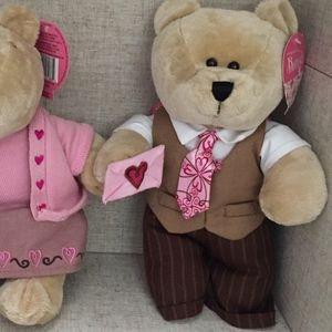 Starbucks Bearista 2007 Valentine's Day Bear w/tie